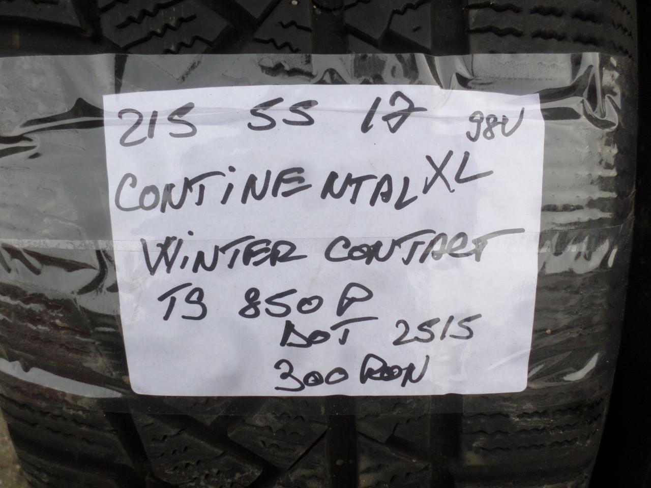 Jante Vw passat 3G B8 17 zoll 215 55 17 iarna Continental