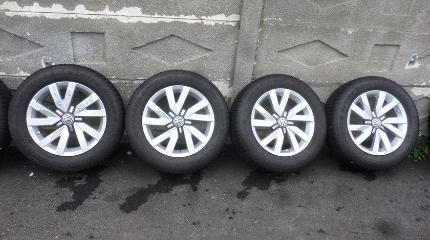 Jante VW Passat b8 Aragon 215 60 16 iarna Dunlop dot (3517)+SENZORI