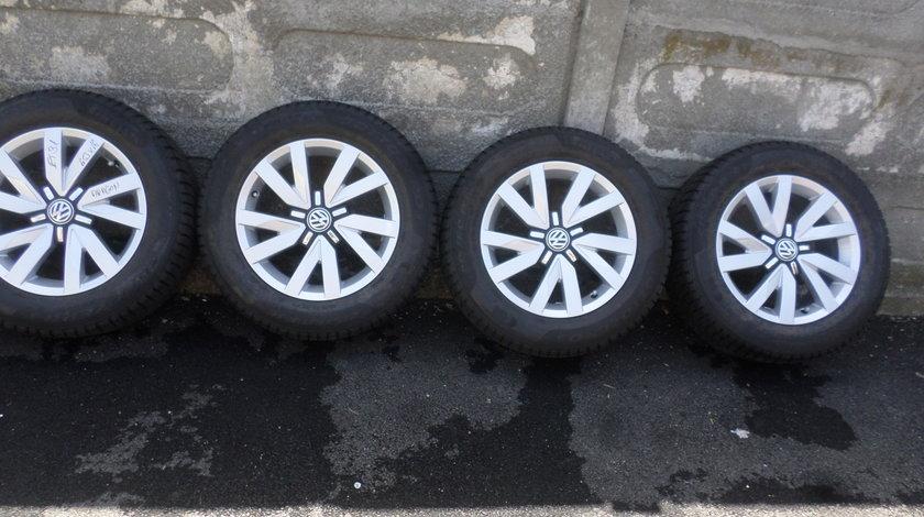Jante VW Passat b8 Aragon 215 60 16 iarna Pirelli Sottozero S3 dot 2818