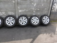 Jante VW Passat b8 Aragon 215 60 16 iarna Michelin Alpin 5 dot (4816)