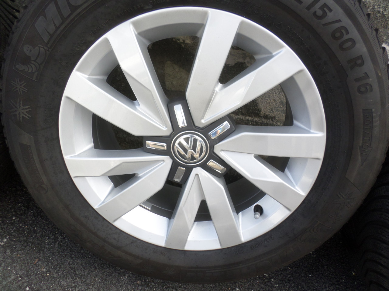Jante VW Passat b8 Aragon 215 60 16 iarna Michelin Alpin 5 dot (4416)