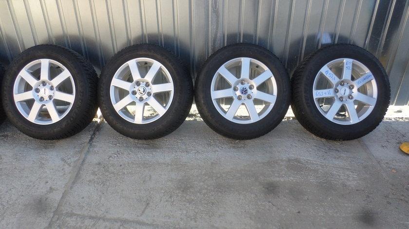 Jante VW Passat b8 marca Alutec  215 60 16 iarna Dunlop Winter Sport 5  dot (3416)