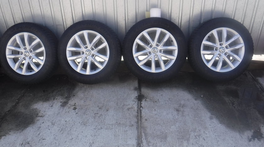 Jante VW Passat b8 Touran T-Roc Sepang iarna 215 60 16 Dunlop dot (2216)