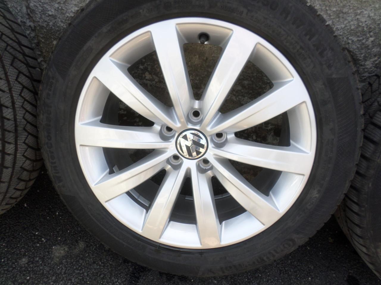 Jante VW Sharan 7N  model SYDNEY  225 50 17 iarna Continental  dot 3017