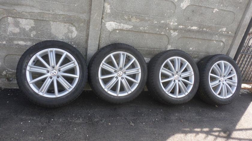 Jante VW Tiguan 235 50 18 vara Dunlop A/S