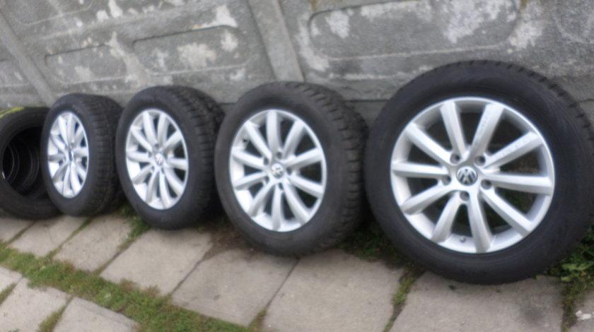 Jante VW Touareg 18 Iarna 255 55 18 Pirelli  Senzori de Presiune