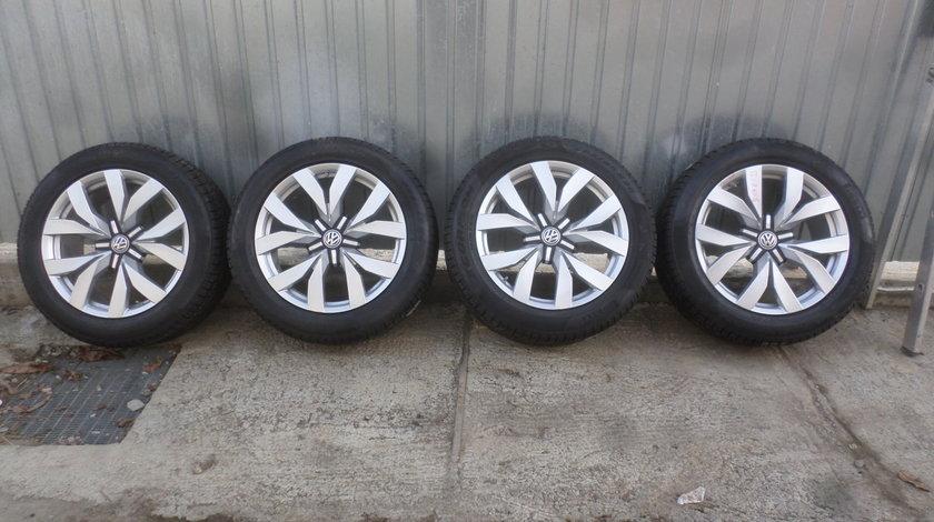 Jante VW Touareg Cr7  285 45 20 iarna Pirelli  NOIII prindere 5X112 +Senzori de Presiune