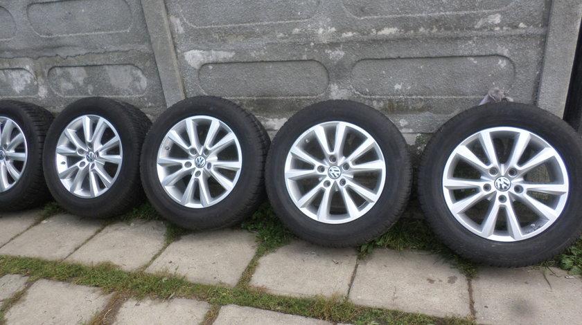 Jante VW Touareg KARAKUM 255 55 18 Iarna Dunlop SENZORI