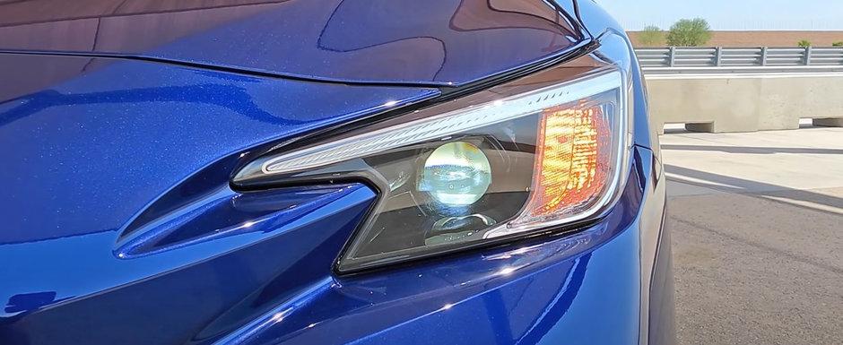 Japonezii au publicat acum toate pozele posibile si imposibile: acesta este noul Subaru WRX! Cum arata in realitate