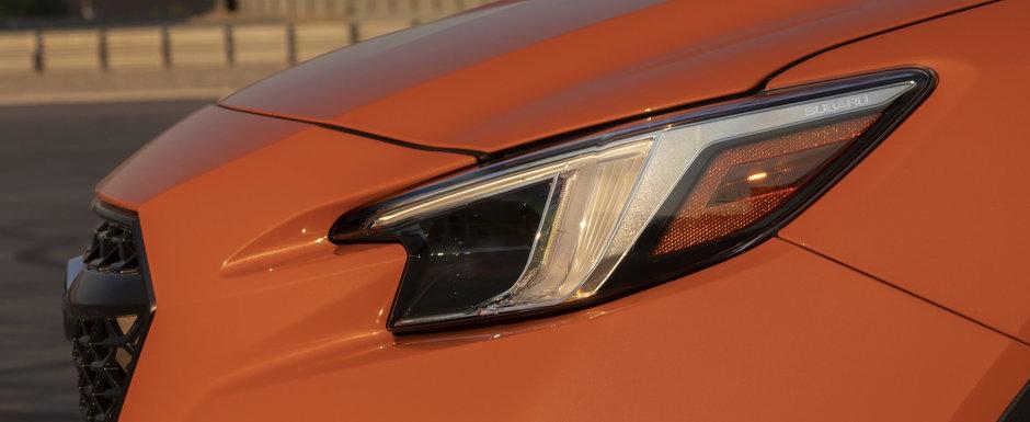 Japonezii au publicat acum toate pozele posibile si imposibile: acesta este noul Subaru WRX!