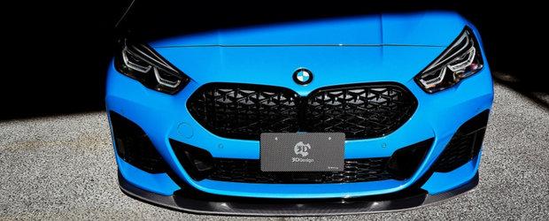 Japonezii au terminat de tunat cel mai nou BMW cu tractiune fata din istorie. Galerie foto completa