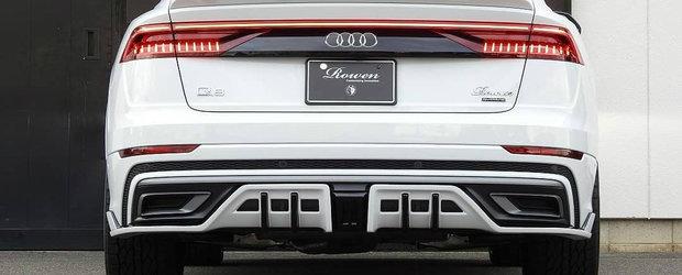 Japonezii au terminat de tunat primul Q8 din istorie: noul SUV de la Audi e acum de nerecunoscut