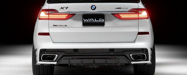 Japonezii au terminat de tunat primul X7 de la BMW: noul SUV de peste cinci metri lungime este acum de nerecunoscut