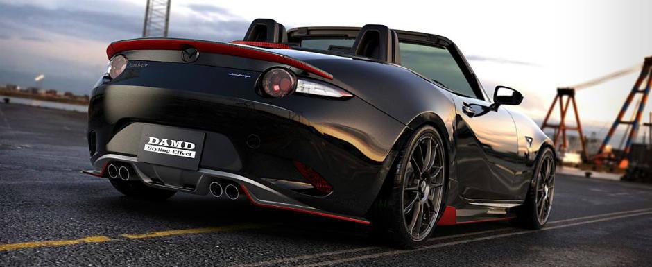 Japonezii de la DAMD au pus mana pe noua Mazda MX-5 Roadster, si a iesit asta