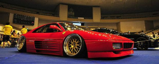 Japonezii de la FERS.CRU ne arata cum poti sa iti bati joc de un Ferrari 348