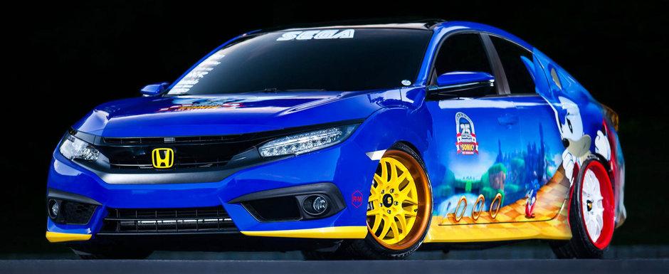 Japonezii de la Honda sunt fani Sonic. Surpriza niponilor pentru cel mai rapid arici din lume
