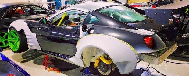 Japonezul Daigo Saito revine cu o noua bomba: un Ferrari 599 transformat in masina de drift