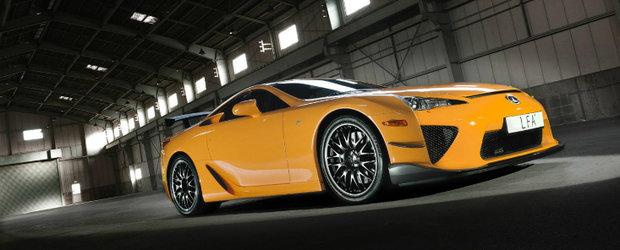 Japonezul Lexus LFA stabileste un nou record la Nurburgring