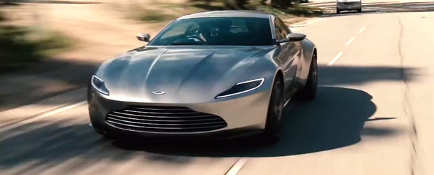 Jay Leno are un moment James Bond: conduce noul Aston Martin DB10