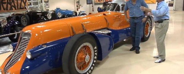 Jay Leno conduce o masina cu un motor de 26 de litri: Mormon Meteor III