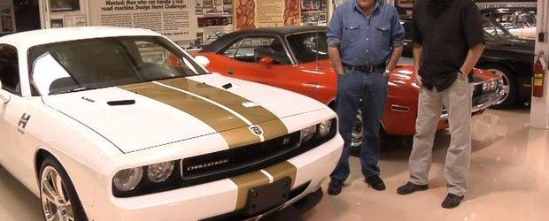 Jay Leno face o tura cu Hurst Challenger, un muscle-car de 570cp