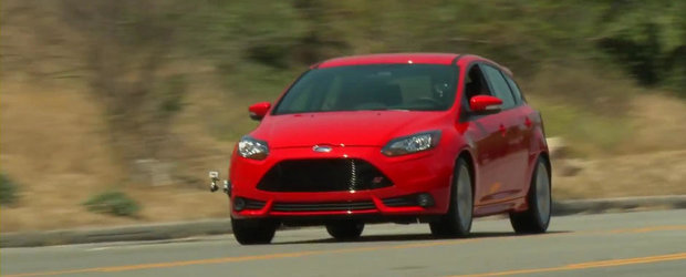 Jay Leno ia la testat ultimul Ford Focus ST