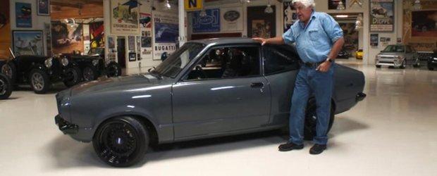 Jay Leno iubeste tuningul si conduce o foarte rara Mazda RX3
