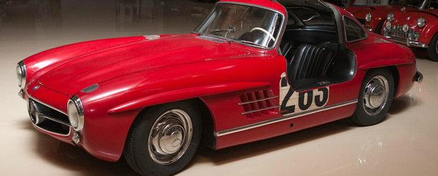 Jay Leno ne prezinta un Mercedes-Benz 300SL Gullwing, proprietate personala
