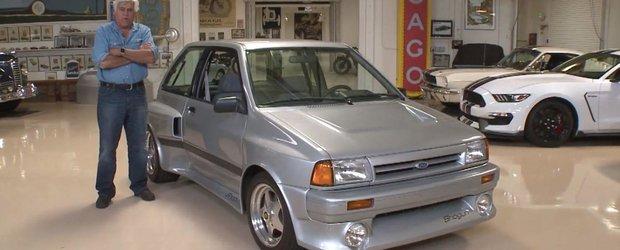 Jay Leno ne prezinta un pocket-rocket din 1989: Ford Shogun cu motor in spate si performante de Porsche