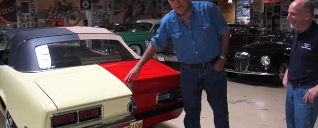 Jay Leno si 2 Camaro intr-unul singur