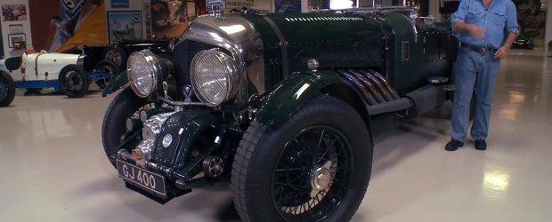 Jay Leno si al sau Bentley cu motor de 27 litri din 1930