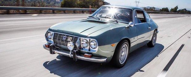 Jay Leno testeaza o Lancia Fulvia Sport 1.3 Zagato si ii place!
