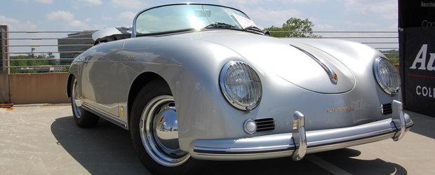 Jay Leno testeaza un Porsche 356A din 1957, readus la viata recent
