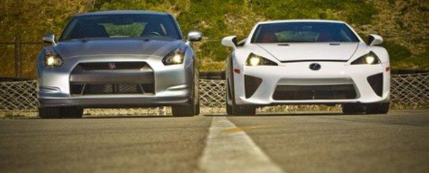 JDM War: Lexus LFA versus Nissan GT-R