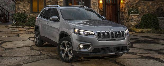 Jeep a lansat oficial noul Cherokee facelift. Vor fi disponibile trei motorizari, dintre care una de 270 de cai
