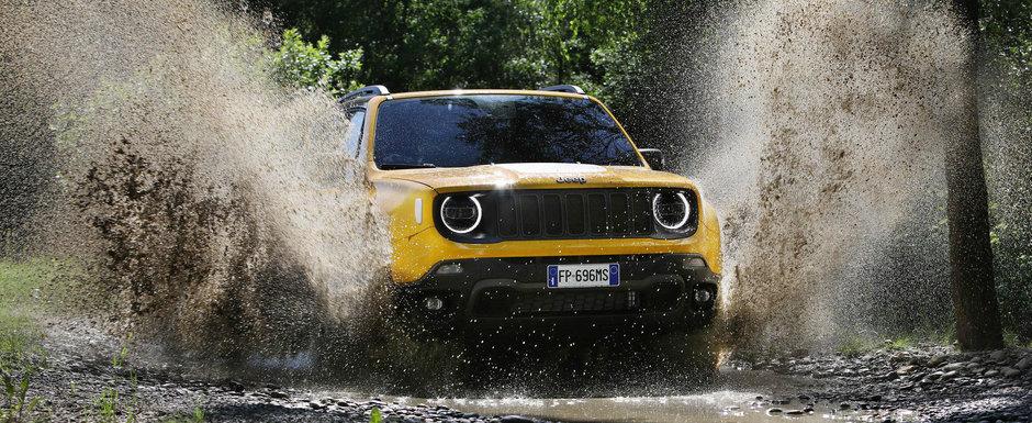 Jeep a publicat toate informatiile despre noul Renegade facelift. Ce motorizari are rivalul lui Qashqai