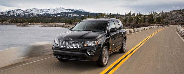 Jeep anunta un nou facelift pentru SUV-ul Compass