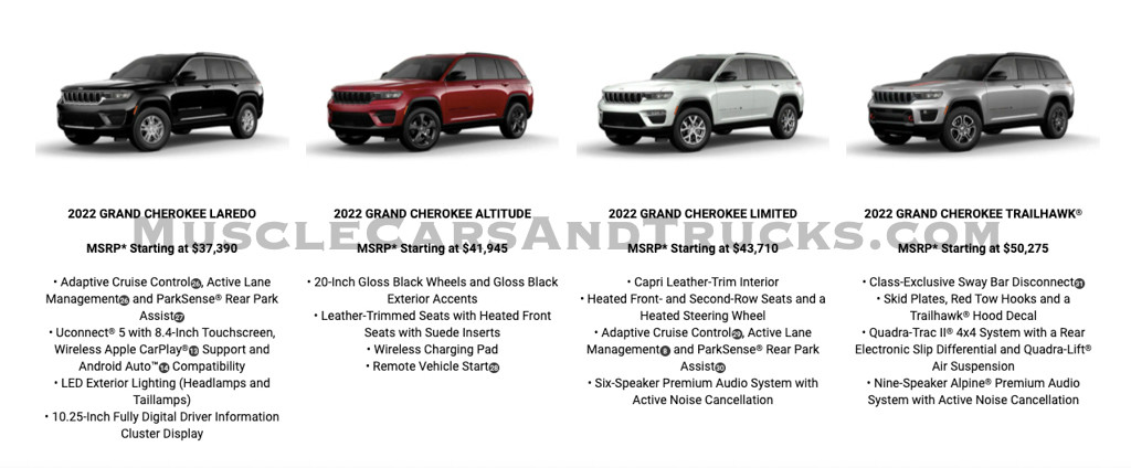 Jeep Grand Cherokee - Preturi - Jeep Grand Cherokee - Preturi