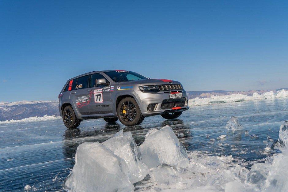 Jeep Grand Cherokee Trackhawk record mondial