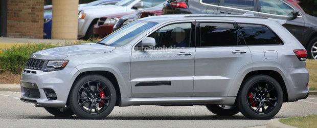 Jeep Grand Cherokee Trackhawk va avea sistem de vectorizare a cuplului