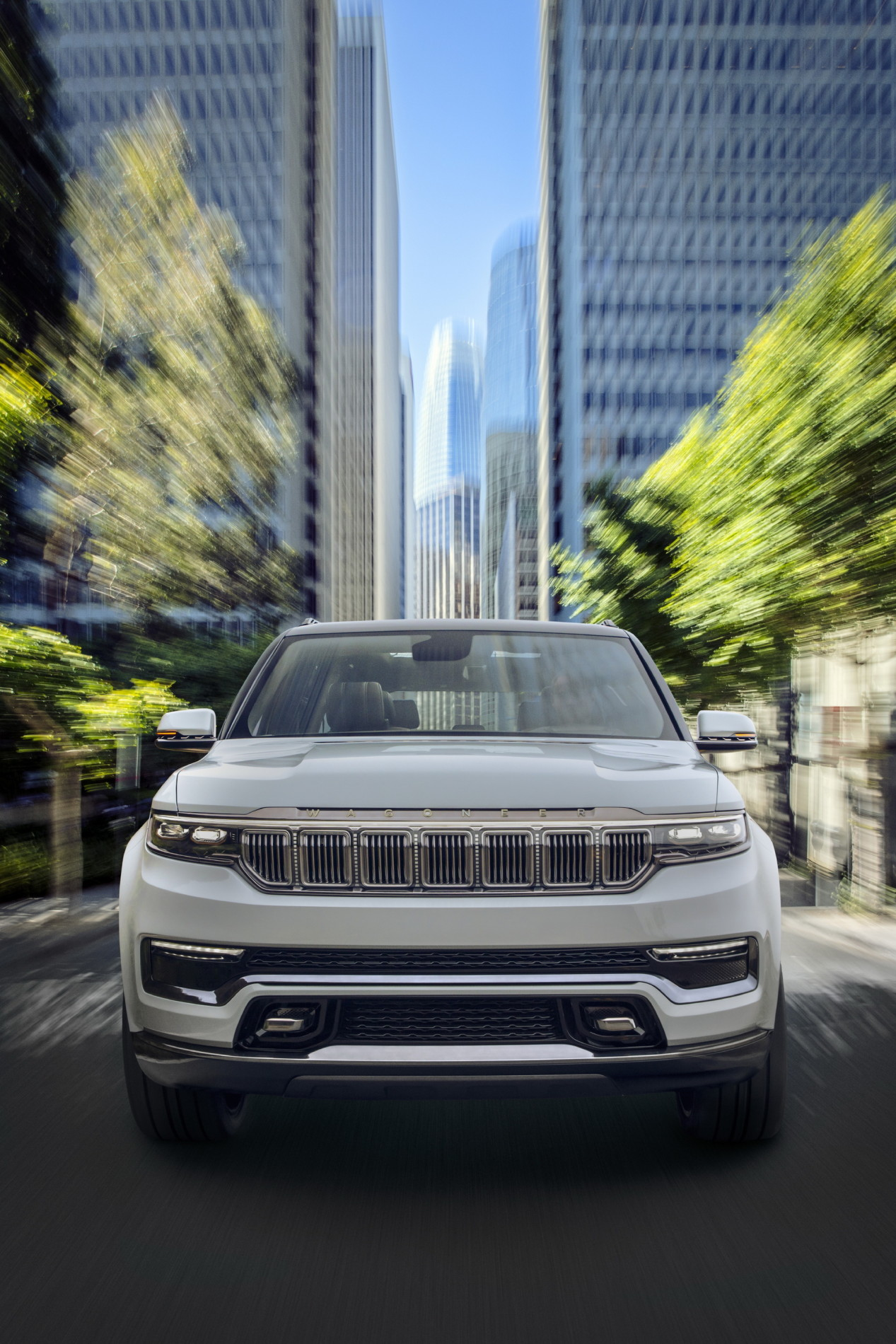 Jeep Grand Wagoneer Concept - Jeep Grand Wagoneer Concept