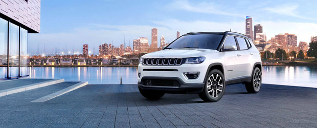 Jeep lanseaza noul Compass in Europa cu 8 motorizari si 4 niveluri de echipare