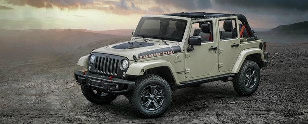 Jeep lanseaza Wrangler-ul ideal pentru pasionatii de off-road
