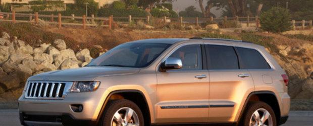 Jeep prezinta Grand Cherokee 2011