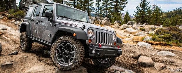 Jeep pune Wrangler-ul la dieta. Viitoarea generatie va avea mai multe piese construite din aluminiu