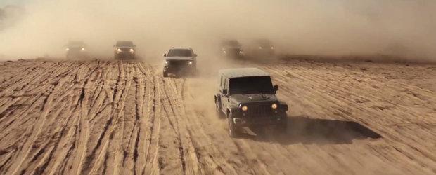 Jeep sarbatoreste 75 de ani de existenta cu un spot plin de istorie si emotie