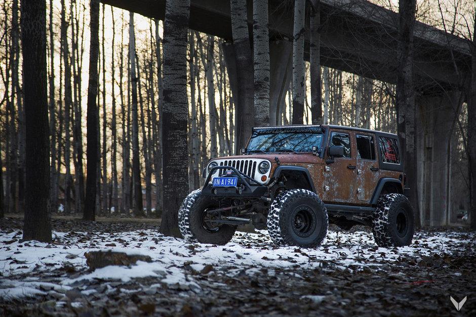 Jeep Wrangler Hunting de la Vilner