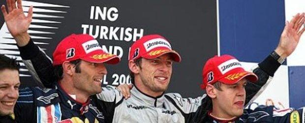 Jenson Button - Castigator la Marele Premiu al Turciei