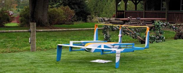 Jeremy Clarkson face reclama serviciului Amazon de livrare cu drona in doar 30 de minute