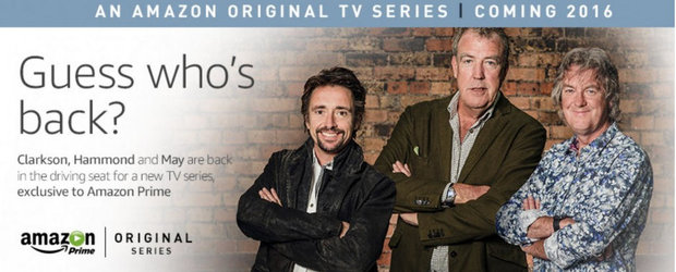 Jeremy Clarkson, Richard Hammond si James May revin pe TV-ul tau din 2016